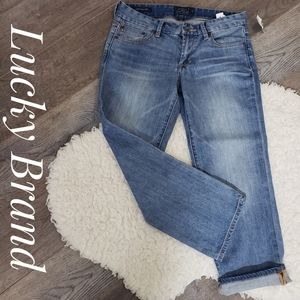 Lucky Brand Sweet Cropped Jean's NWT